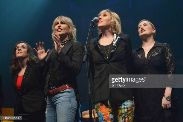 Lucy Wainwright Roche Chrissie Hynde Martha Wainwright and Kami Thompson perform live on stage during Rufus Martha Wainwright's 'A Not So Silent...