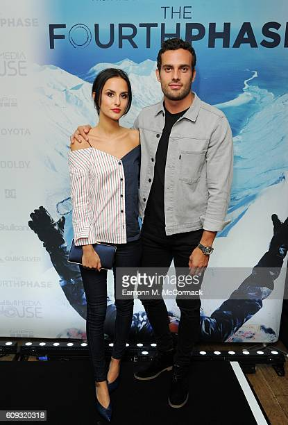 Lucy Watson and James Dunmore at the London premiere of 'The Fourth Phase' by Red Bull Media House at BFI Southbank on September 20 2016 in London...