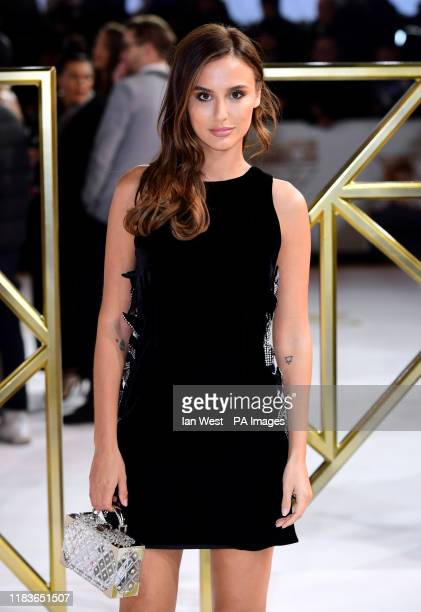 Lucy Watson attending the Charlie's Angels UK Premiere at the Curzon Mayfair, London.