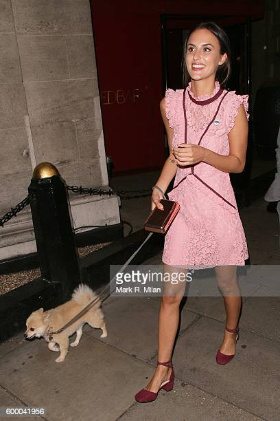 Lucy Watson attending the Daily Mirror and RSPCA Animal Hero Awards on September 7 2016 in London England