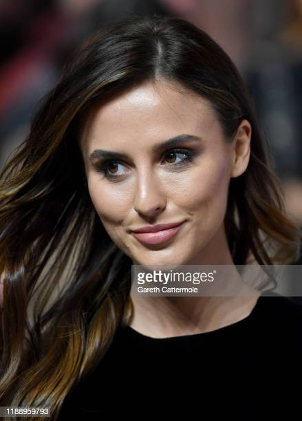 """Lucy Watson attends the """"Charlies Angels"""" UK Premiere at The Curzon Mayfair on November 20, 2019 in London, England."""