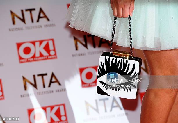 Lucy Watson attends the National Television Awards at 02 Arena on January 21 2015 in London England