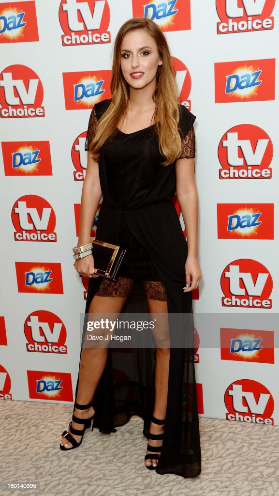 Lucy Watson attends the TV Choice Awards 2013 at The Dorchester on September 9, 2013 in London, England.