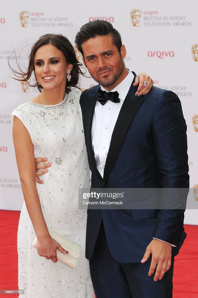 Lucy Watson & Spencer Matthews attends the Arqiva British Academy Television Awards 2013 at the Royal Festival Hall on May 12, 2013 in London, England.