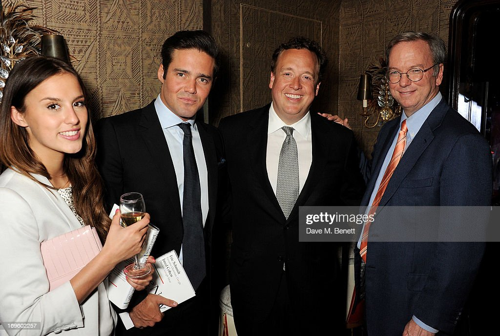 Jamie Reuben Hosts Book Launch for 'The New Digital Age' By Eric Schmidt and Jared Cohen : News Photo
