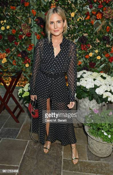 Lucy Williams attends the Annabel's x Dior dinner on May 21 2018 in London England