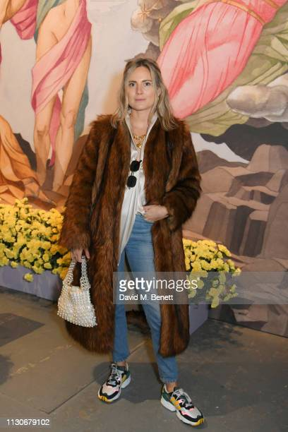 Lucy Williams attends the Shrimps show during London Fashion Week February 2019 at Ambika P3 on February 19 2019 in London England