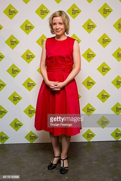 Lucy Worsley attends the announcement of the winner of the UK's largest arts prize the £100000 Art Fund Prize for Museum of the Year presented by Sam...