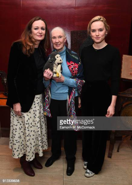 Lucy Yeomans PORTER EditorinChief Dr Jane Goodall and Daisy Ridley attend PORTERÕs Incredible Women Talk followed by a screening of the BAFTA...