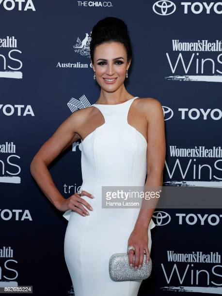 Lucy Zelic Arrives Ahead Of Womens Health Women In Sport Awards On October   In