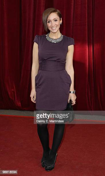 LucyJo Hudson attends an Audience With Michael Buble at the London ITV Studios on May 3 2010 in London England