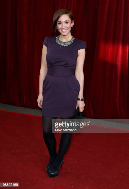 LucyJo Hudson attends 'An Audience With Michael Buble' at The London Studios on May 3 2010 in London England