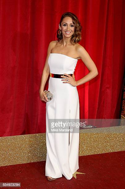 LucyJo Hudson attends the British Soap Awards 2016 at Hackney Empire on May 28 2016 in London England