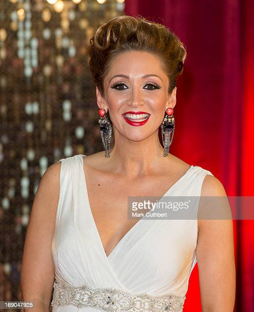 LucyJo Hudson attends the British Soap Awards at Media City on May 18 2013 in Manchester England