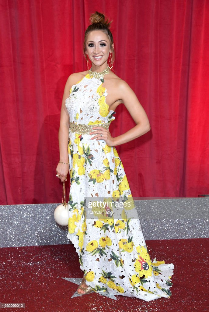 Lucy-Jo Hudson attends the British Soap Awards at The Lowry Theatre on June 3, 2017 in Manchester, England.