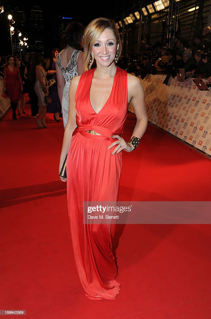 Lucy-Jo Hudson attends the the National Television Awards at 02 Arena on January 23, 2013 in London, England.