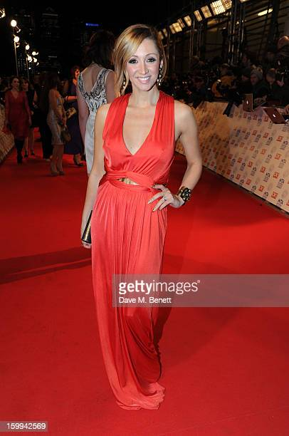 LucyJo Hudson attends the the National Television Awards at 02 Arena on January 23 2013 in London England