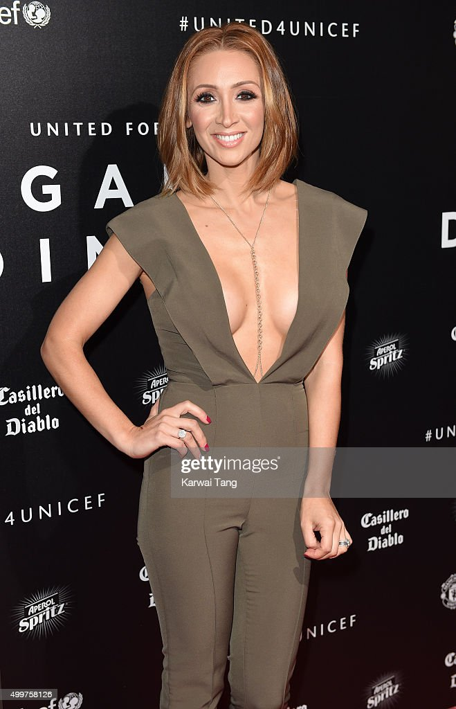 Lucy-Jo Hudson attends the United for UNICEF Gala Dinner at Old Trafford on November 29, 2015 in Manchester, England.
