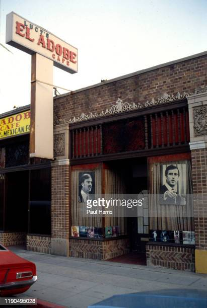 Lucy's El Adobe Cafe was Governor of California Jerry Browns favorite Mexican restaurant in Los Angeles June 10 1979 ion Melrose Avenue Los Angeles...