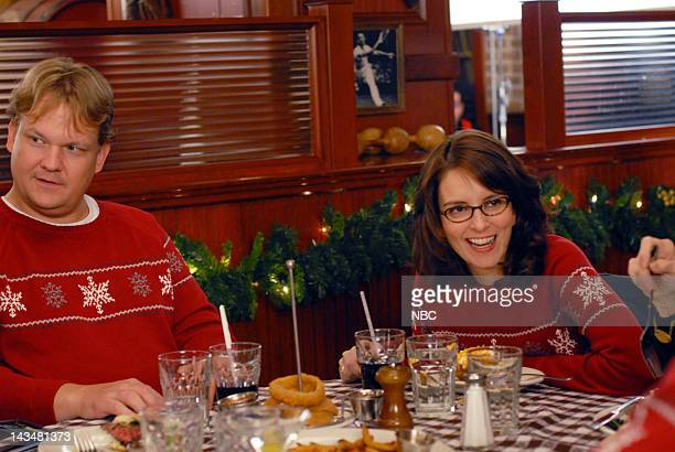 30 ROCK 'Ludachristmas' Episode 209 Air Date Pictured Andy Richter as Mitch Tina Fey as Liz Lemon