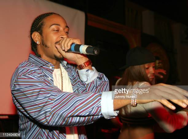 Ludacris and Ciara during Ciara Album Release Party at Show in New York City New York United States