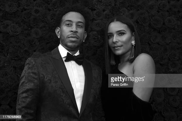 Ludacris and Eudoxie Bridges attend Tyler Perry Studios grand opening gala at Tyler Perry Studios on October 05 2019 in Atlanta Georgia