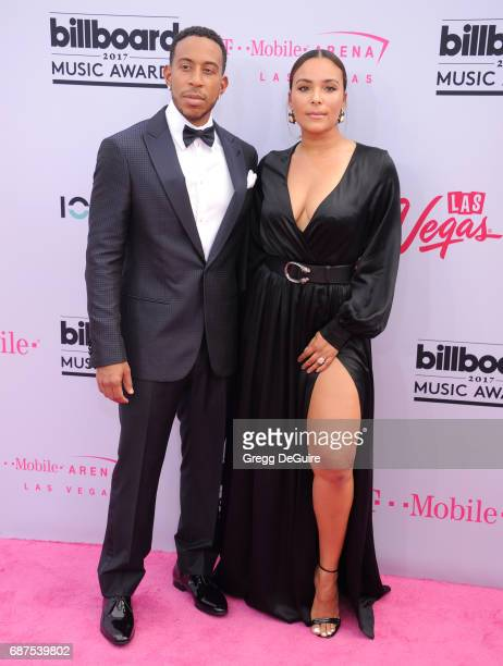 Ludacris and Eudoxie Mbouguiengue arrive at the 2017 Billboard Music Awards at TMobile Arena on May 21 2017 in Las Vegas Nevada