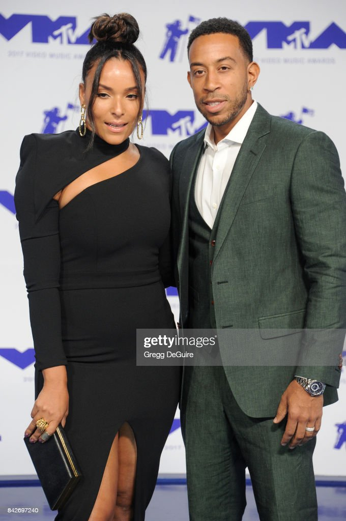 Ludacris and Eudoxie Mbouguiengue arrive at the 2017 MTV Video Music Awards at The Forum on August 27, 2017 in Inglewood, California.