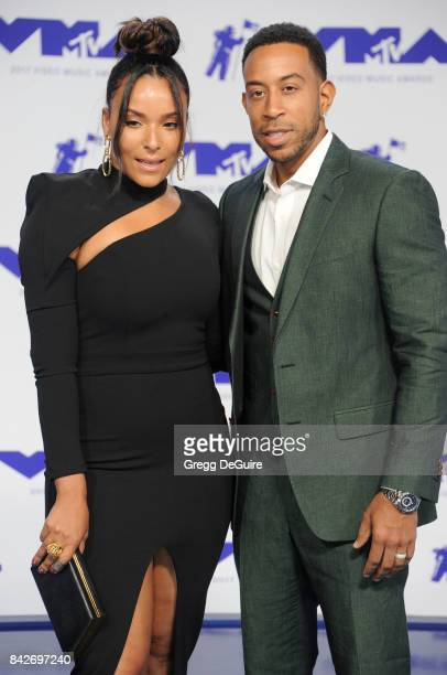 Ludacris and Eudoxie Mbouguiengue arrive at the 2017 MTV Video Music Awards at The Forum on August 27 2017 in Inglewood California