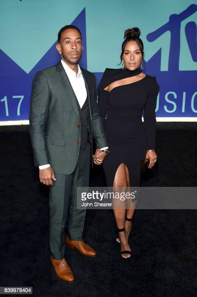 Ludacris and Eudoxie Mbouguiengue attend the 2017 MTV Video Music Awards at The Forum on August 27 2017 in Inglewood California