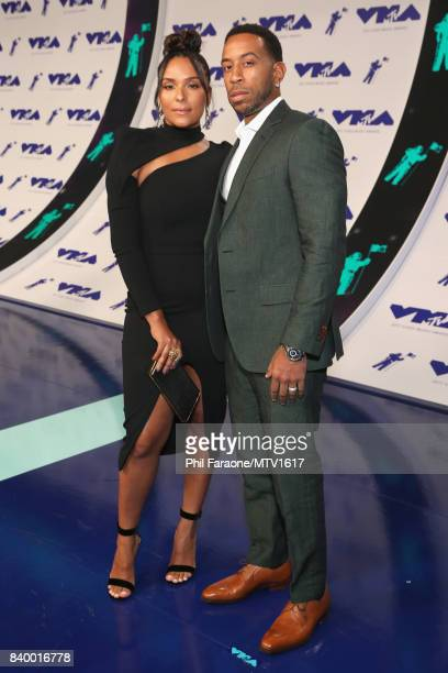 Ludacris and Eudoxie Mbouguiengue during the 2017 MTV Video Music Awards at The Forum on August 27 2017 in Inglewood California
