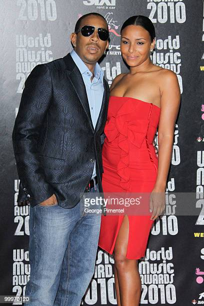 Ludacris and guest attend the World Music Awards 2010 at the Sporting Club on May 18, 2010 in Monte Carlo, Monaco.