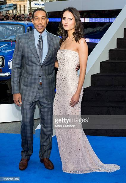 Ludacris and Jordana Brewster attends the World Premiere of ''Fast Furious 6'' at Empire Leicester Square on May 7 2013 in London England