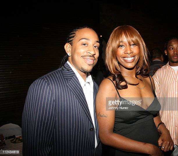 Ludacris and Shareefa during The Ludacris Foundation's 3rd Annual Benefit at The Freight Room in Atlanta New York United States