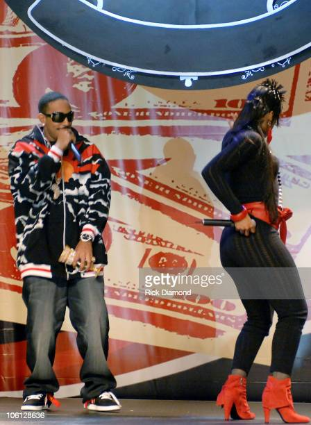 Ludacris and Shawnna during Radio One Presents 2nd Annual Dirty Awards Backstage and Show at Georgia International Convention Center in Atlanta...