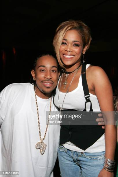 Ludacris and Tionne 'TBoz' Watkins **EXCLUSIVE**