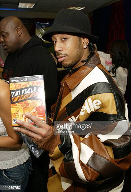 Ludacris at Activision during The Bratz British Invasion Gift Lounge at the 44th Annual GRAMMY Awards - Day Two at Staples Center in Los Angeles,...