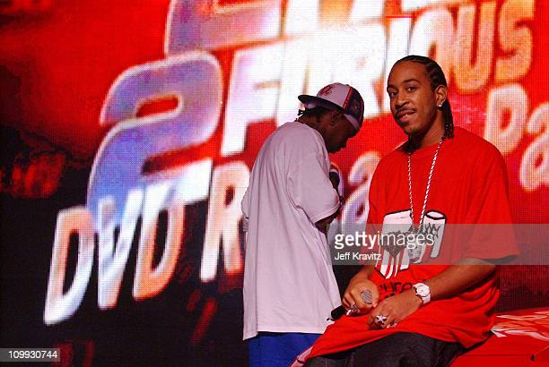 Ludacris at the 2 Fast 2 Furious DVD launch event in Rio Grande Puerto Rico