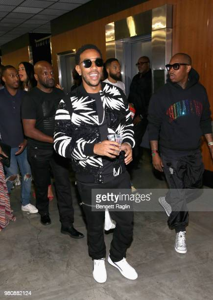 Ludacris attends BET Jams Presents 2018 BET Experience Staples Center Concert sponsored by Nissan at LA Live on June 21 2018 in Los Angeles California
