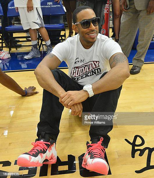Ludacris attends LudaDay Weekend Celebrity Basketball Game at Georgia State University on September 1 2013 in Atlanta Georgia