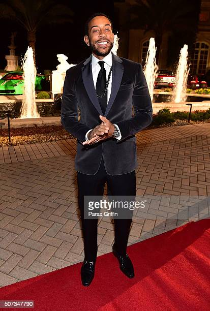 Ludacris attends Rick Ross' 40th Birthday Celebration on January 28 2016 in Fayetteville Georgia