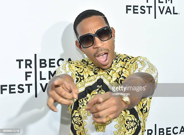 Ludacris attends the world premiere of Live From New York during the 2015 Tribeca Film Festival at The Beacon Theatre on April 15 2015 in New York...