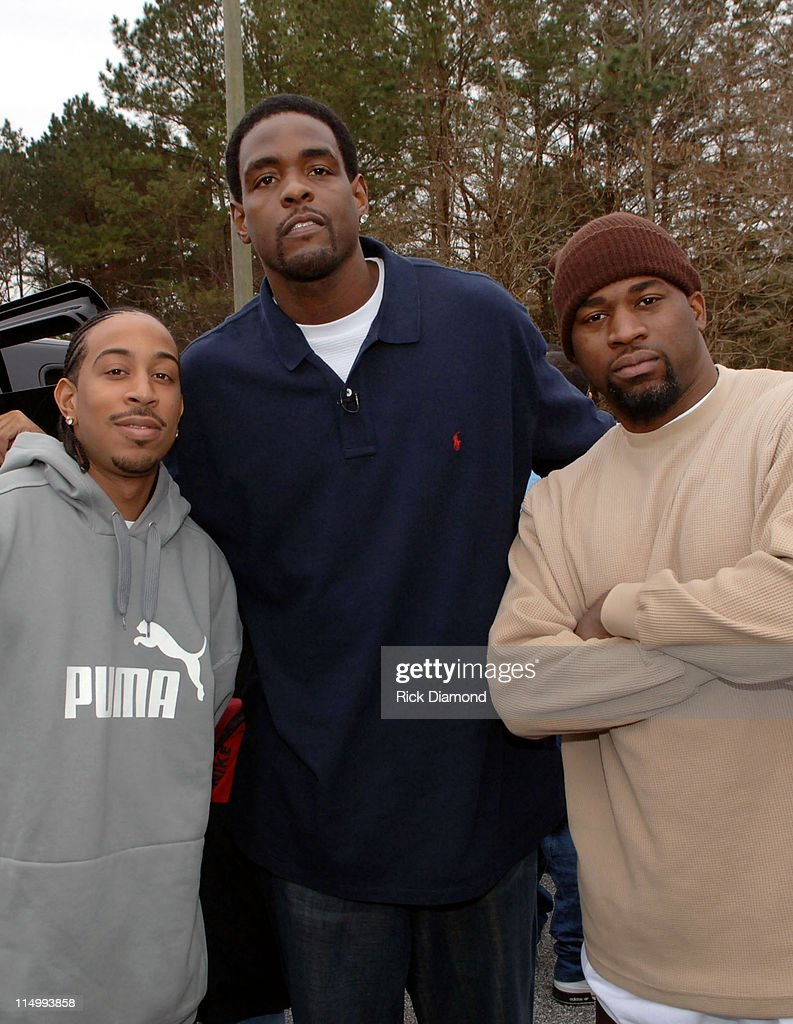 LudaChrisMiss in DeKalb County - Ludacris, Chris Webber and David Banner give