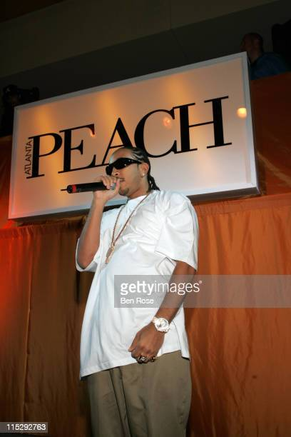 Ludacris during Atlanta PEACH Magazine Launch Party Hosted by Pamela Anderson and Ludacris Concert at Intercontinental Hotel Atlanta in Atlanta...