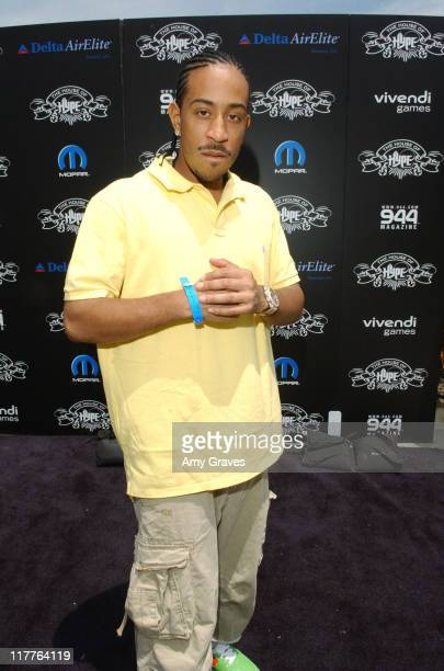 Ludacris during Chrysler SRT Dodge SRT and MOPAR Vehicles at 'House of Hype' Day Two at Private Residence in Beverly Hills CA United States