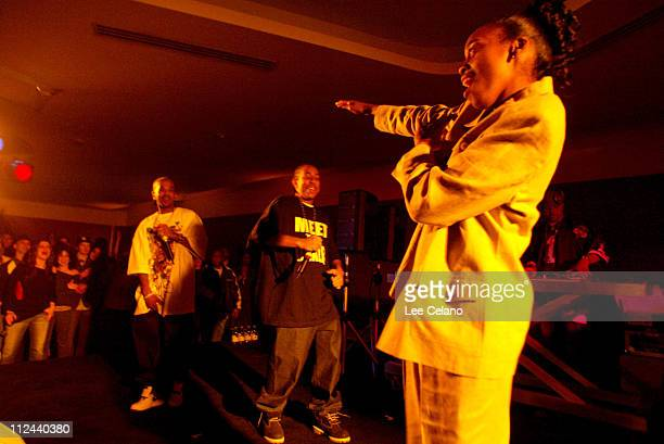 Ludacris during GQ Magazine 2004 NBA All Star Party at Pacific Design Center in Los Angeles California United States