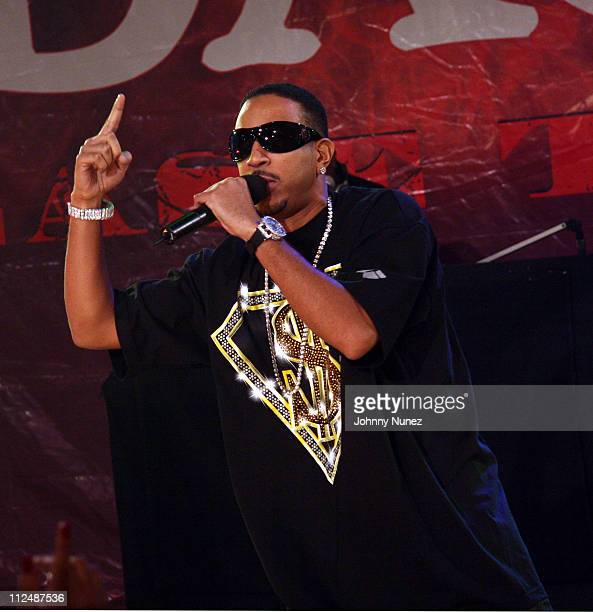 Ludacris during Ludacris Appears on BET '106 Park' September 25 2006 at BET Studios in New York City New York United States