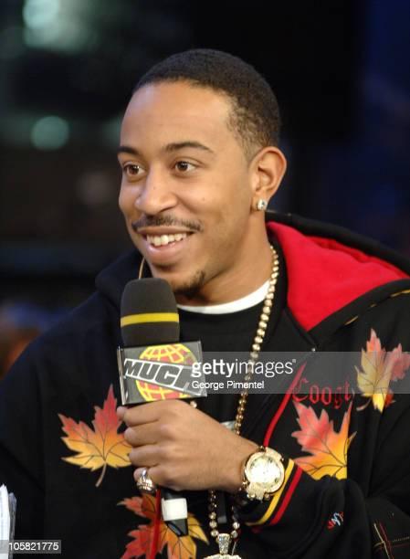 Ludacris during Ludacris Visits MuchMusic Studios in Toronto Oct 23 2006 at Chum/City Building in Torotno Ontario Canada