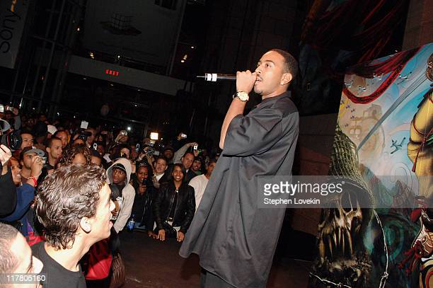 Ludacris during New York Midnight Launch at Sony Style Store Kicks Off Nationwide Release of PLAYSTATION 3 Console November 16 2006 at SonyStyle...