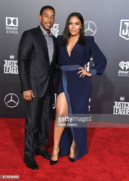 Ludacris Eudoxie Mbouguiengue arrives at the Premiere Of Warner Bros Pictures' Justice League at Dolby Theatre on November 13 2017 in Hollywood...
